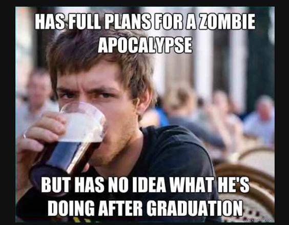 Apocalypse Graduation meme